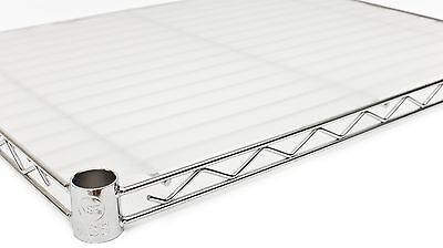 "18"" x 48"" Opaque Wire Shelf Liners - 6 Pack"