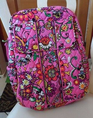 Vera Bradley  Disney Just Mousing Around Pink backpack  #2 NWT