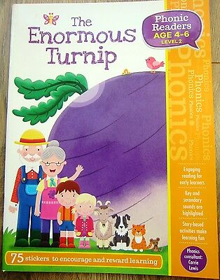 Phonics Level 2 Reading Story Book Children Age 4 5 6 Pre-School / Year 1 NEW