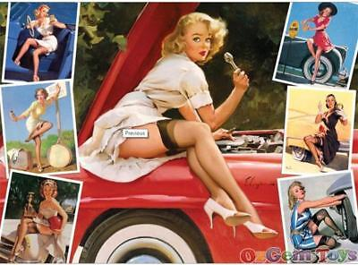 Roadside Attractions Cobble Hill Jigsaw Puzzle 1000 Piece by Gil Elvgren