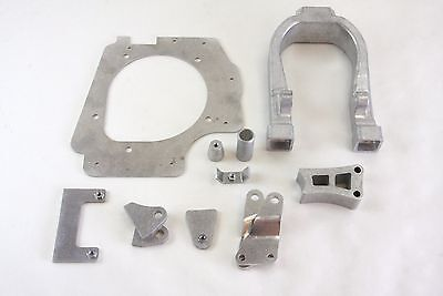 Complete aluminum frame conversion kit for 05-08 CRF450R to CR500 engine