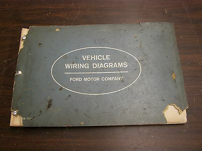 oem ford 1963 wiring diagram book galaxie fairlane comet falcon truck  lincoln +