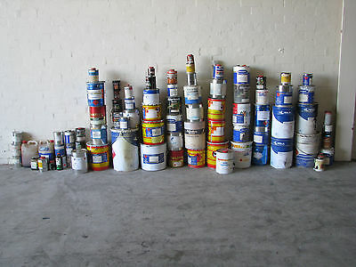 Bulk Lot of Paints and Stains Varnish