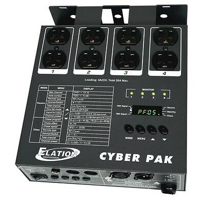 Elation CYBER PACK All-in-One Dimmer/Power/MIDI Pack 20 amp
