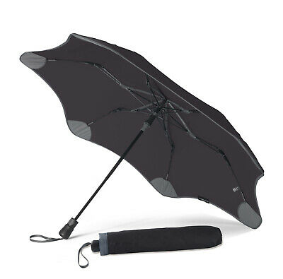 BLUNT XS Metro + UV Compact Umbrella Black