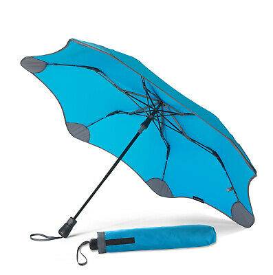BLUNT XS Metro + UV Compact Umbrella Blue