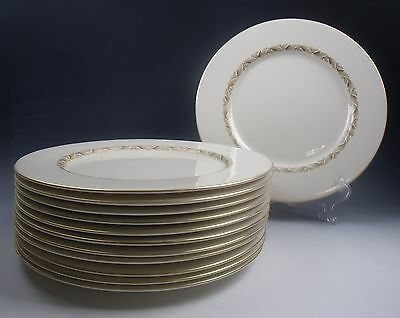 Lot of 12 Castleton China CARLTON Dinner Plates EXCELLENT