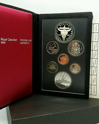 1982 Canada Dollar Silver Canadian Royal Mint Proof Coin Set