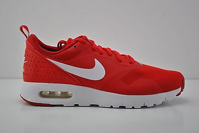 Nike Air Max Tavas (GS) Running Shoes Youth Size 7Y Red White 814443 601