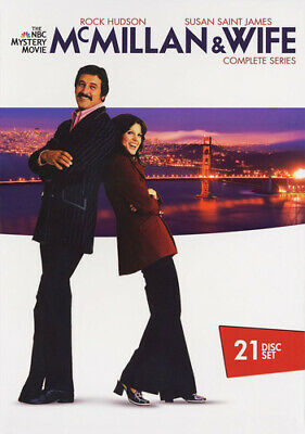 Mcmillan & Wife: Complete Series - 21 DISC SET (2016, DVD NEW)