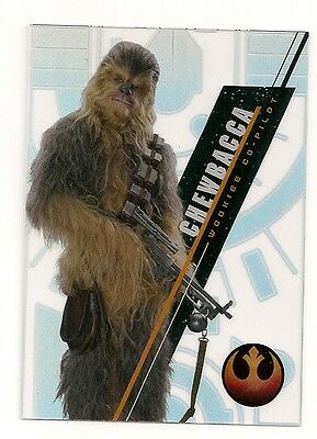 2016 Star Wars High Tek Pattern 4 Form 2 #sw-88 Chewbacca