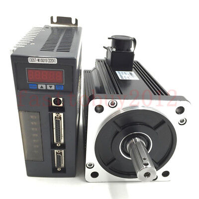 AC Servo Drive+Motor Kit + 3M Encoder Cable + 3M Power Cable  1 year warranty