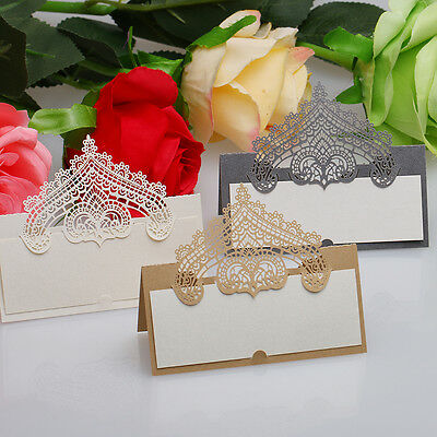 New Table Place Name Cards For Wedding Party With Delicate Butterfly Style