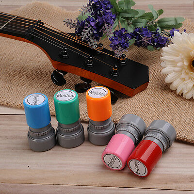 DIY Chord Seals Chops Stamp No Ink Needed Recycled 5 Colors Ukulele Guitar