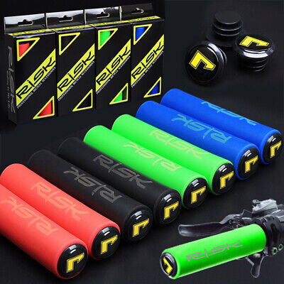 1 Pair Silicone Rubber Bicycle Handlebar Grips for Road MTB Mountain Bike Cycle