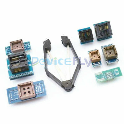 8 Programmer Adapters Sockets Kit with IC Extractor for TL866CS/ TL866A /EZP2010