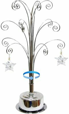 For Swarovski Christmas Ornament 2019 Annual Snowflake Crystal Angel Star Stand