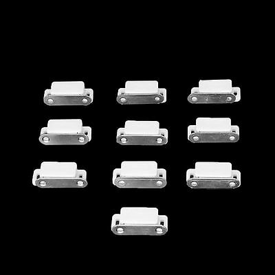 10Pcs Small Magnetic Door Catches Kitchen Cupboard Wardrobe Cabinet Catch Latch
