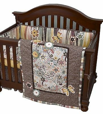 Cotton Tale Designs 4-Piece Penny Lane Crib Bedding Set 1-Pack