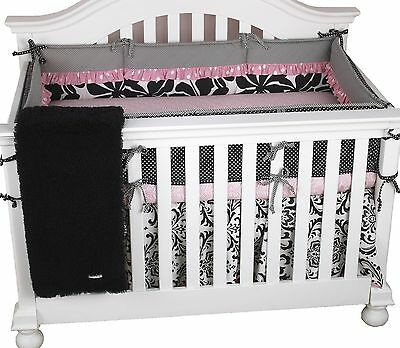 Cotton Tale Designs Girly 4-Piece Crib Bedding Set 1-Pack