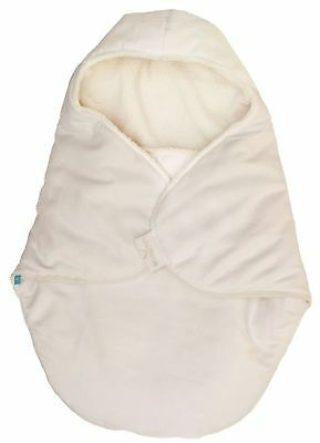 Wallaboo Baby Blanket Coco Nore Faux Suede and Soft Shearling Fits Car Seat a...