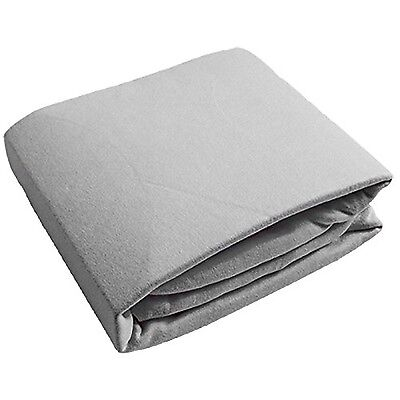 Kushies Baby Fitted Crib Sheet Grey Solid