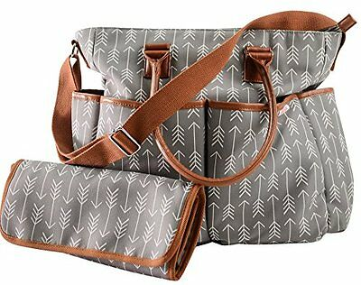Diaper Bag by Danha - Plus Matching Baby Changing Pad -