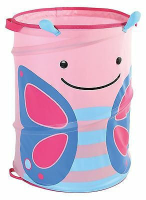 Skip Hop Zoo Pop-Up Hamper Blossom Butterfly