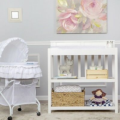 Dream On Me Zoey 3 in 1 Convertible Changing Table White