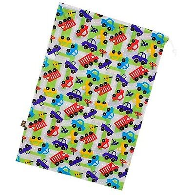 Kushies Waterproof Laundry Baby - Boy Print Wobbly Squares