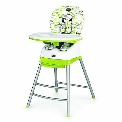 Chicco 7922936 Polly Stack High Chair Kiwi White/Green