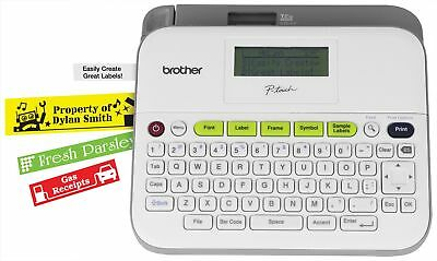Brother PTD400AD Label Maker With AC Adapter