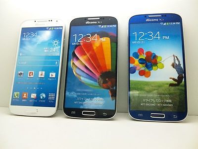 NTT docomo SC-04E GALAXY S4 Non-working Display Phone 3 color set