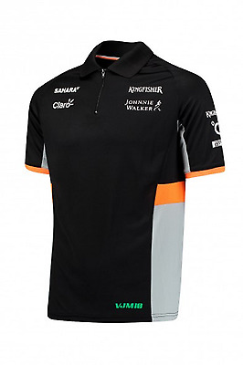 Sahara Force India F1 Men's Team polo shirt - 2017