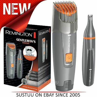 Remington MB4011 Gentleman's Beard + Nose/Ear Hair Trimmer w/Moustache Mug