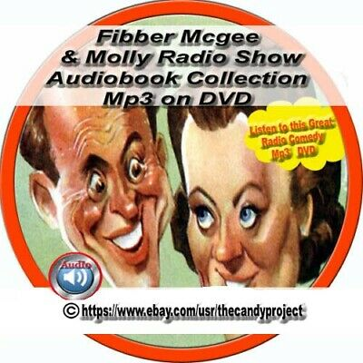Fibber McGee and Molly Old Time Radio Shows comedy series Audiobook Mp3 DVD