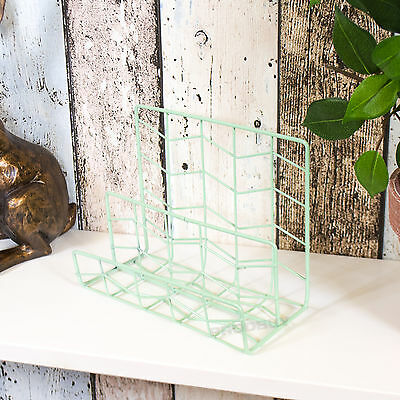 Metal Wire Letter Storage Rack Holder Tray Organiser File Desktop Office Home