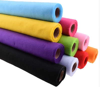 45x90cm Felt Fabric Wool Feel 2mm thickness Non Woven registered mail