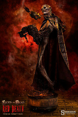 Court of the Dead Premium Format Polystone-Statue: The Red Death 55 cm (Mängelex