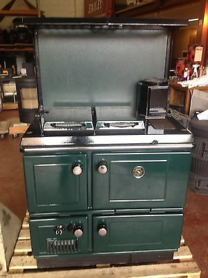STANLEY SOLID FUEL COOKER with PLATE RACK & SPLASHBACK(PRICE REDUCTION)***