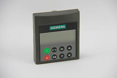 Siemens Micromaster 4 6SE6400-0BP00-0AA0 Basic Operator Panel 5-Digit Display