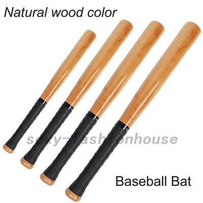 54/64/74/84cm Wood Baseball Bat Wooden Softball Bat Sports Racket Outdoor