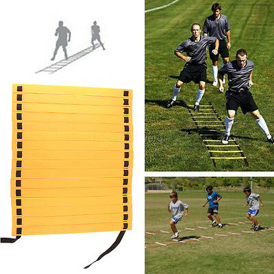8M Running Speed Ladder Footwork Football Agility Soccer Training Carry Bag -UK