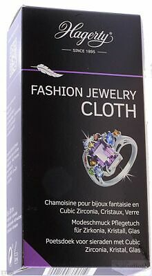 Hagerty Fashion Jewelry Cloth Modeschmuck Pflegetuch für Zirkonia, Kristall, Gla