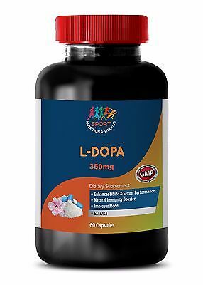 Mood For Men - 99% L-Dopa Extract 350mg - Dopa Plus Pure Encapsulations 1B