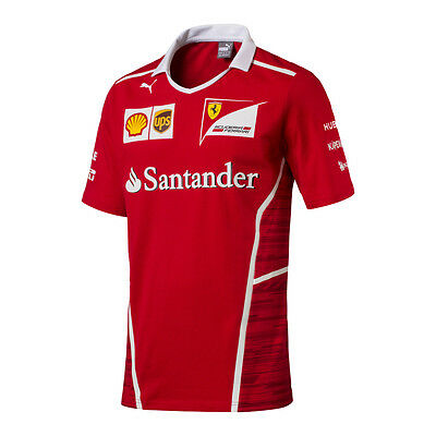Scuderia Ferrari F1 Official Men's Team T-Shirt - 2017