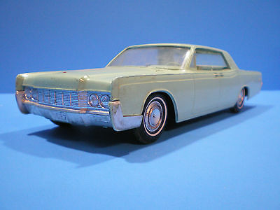 1967 Lincoln hard top original Promo in light blue /green? by AMT
