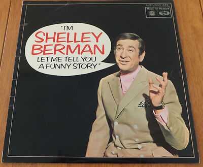 I'm Shelley Berman Let Me Tell You A Funny Story Vinyl lp VG+/VG+ MFP 1269