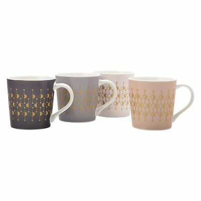 NEW Maxwell & Williams Pivot Mug, 400ml (Set of 4)