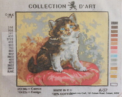 TAPESTRY CANVAS - COLLECTION d'ART - CAT